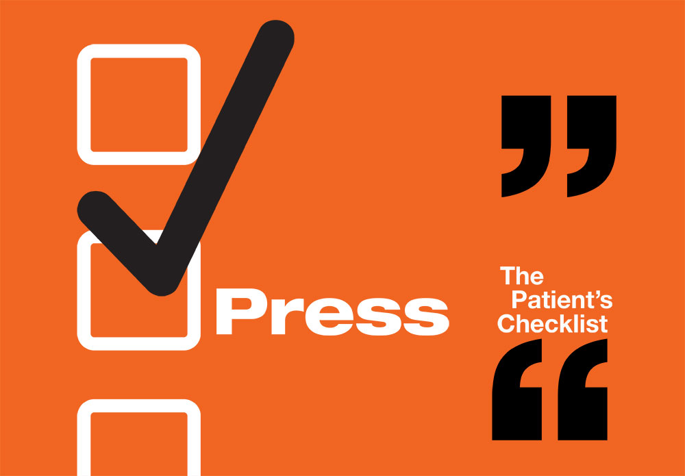 Press for The Patient's Checklist
