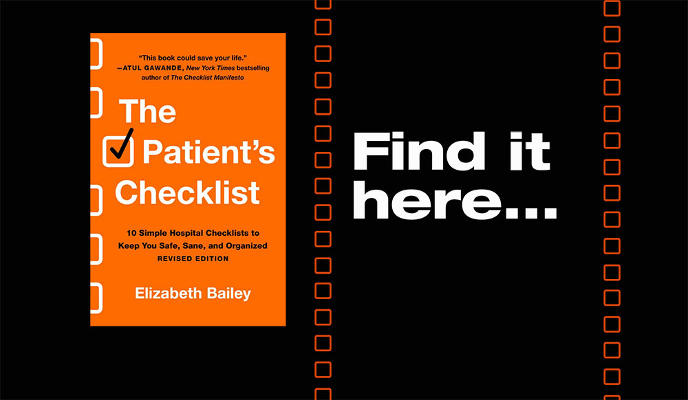 Buy The Patient's Checklist at these retailers