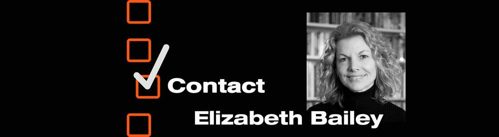 Contact Elizabeth Bailey, Author and Patient Advocate
